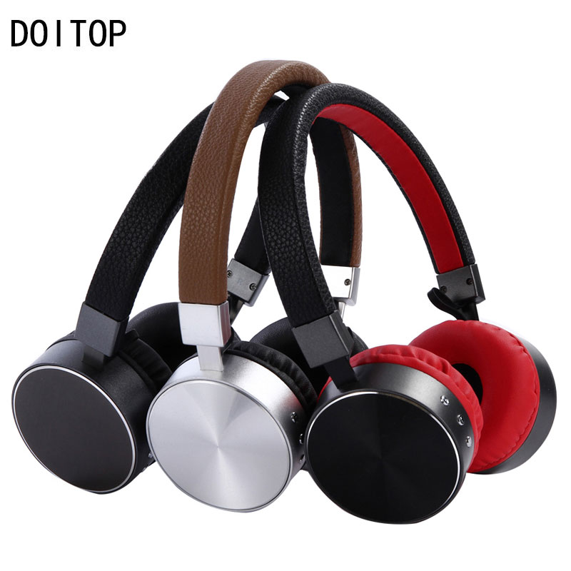 New Arrival Bluetooth 4.1 Headphone Wireless Stereo Music Earphone Metal Headset with Mic for Smartphone Tablet MP3 Media Play 4 high quality colorful cheap price hifi fever sport earphone headset smartphone tablet headphone with mic for adult and kid lady