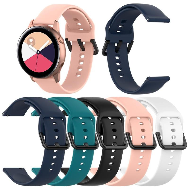 Silicone Watch Band Bracelet Strap For Samsung Galaxy Watch Active R500 S