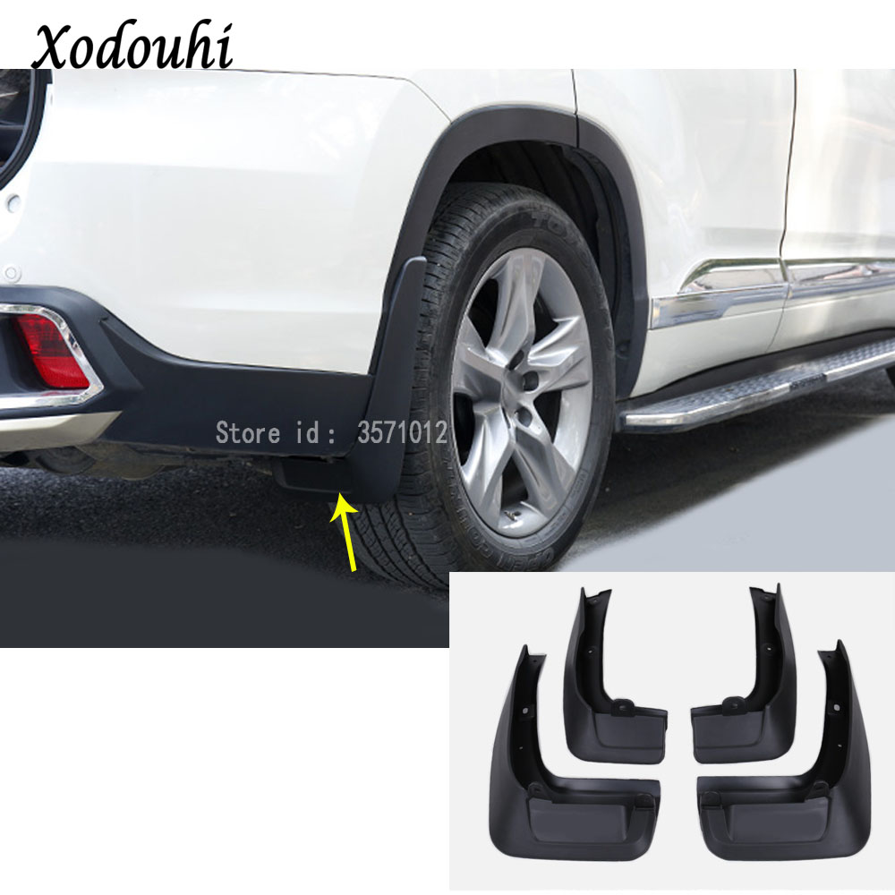 Ultra Soft Car Fender Covers: For Toyota Highlander 2015 2016 2017 Car Cover Styling