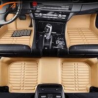 AutoDecorun Custom Fit Car Floor Carpets Mats For BMW X5 Series Car Mats Sets PU Foam Front & Rear Car Floors Feet Pads Styling