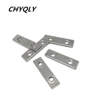 M5 Two Hole T Nuts 3D printer parts open builds T Nuts carbon steel nickel galvanized for v-slot- 100 anides t8 lead screw 3d printer parts 250 300 350 400 500 mm leadscrew parts 8mm trapezoidal rods nuts screws coppe for reprair parts