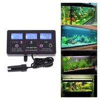 6 En 1 Multi-paramètre Test De Compteur D'eau LCD Multi-fonction pH/RH/CE/FC/TDS/TEMP Eau Qualité Moniteur Testeur