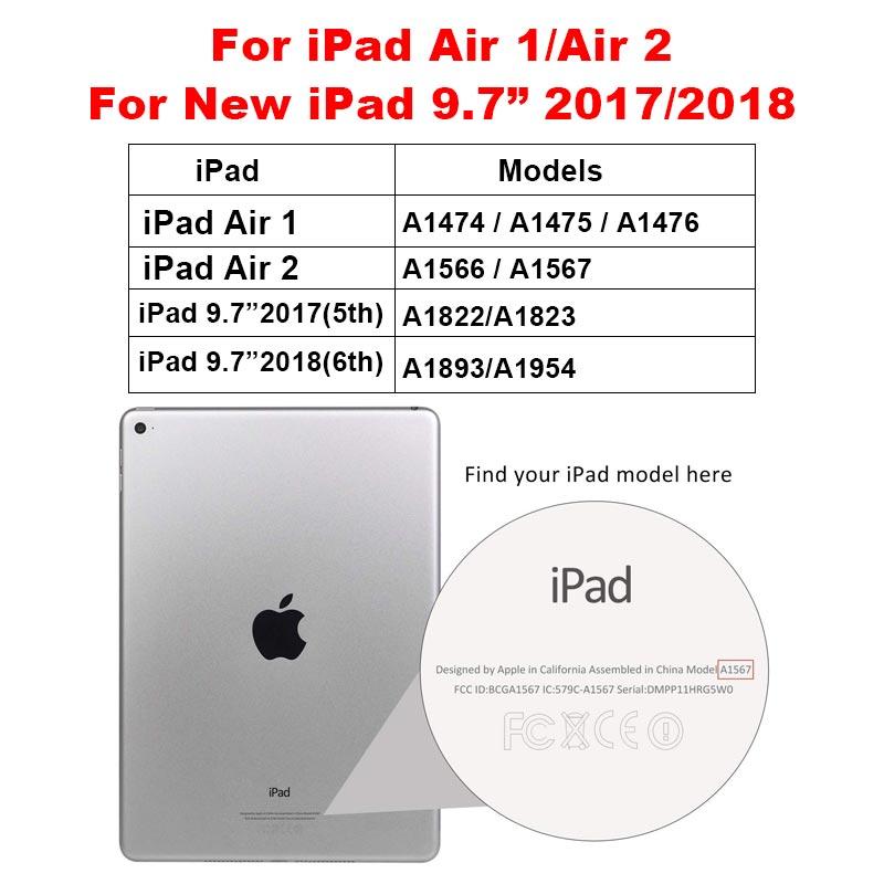 9D защита экрана с закругленными краями для iPad 10,2 mini 5 4 Air 3 2 1 Закаленное стекло пленка для iPad Pro 11 10,5 9,7 - Цвет: Air - 9.7 2017 2018