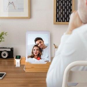 Image 5 - SZYSGSD 2 en 1 Station de recharge en bois pour iPhone 6 6 S 8 support de téléphone portable bureau pour Apple Watch charge support Bluetooth écouteurs