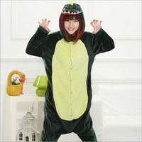 녹색 공룡 의상 잠옷 팬더 코스프레 만화 동물 Unicornio 잠옷 호랑이 곰 스타 유니