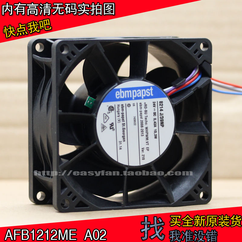 NEW FOR EBMPAPST Ebm-papst 8214 J/39NP Frequency converter 24V 8038 cooling fan