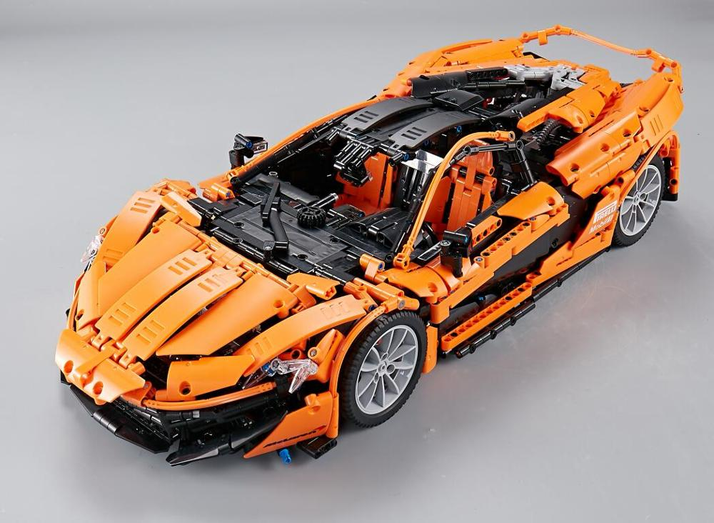 20086 20001 20087 21045 <font><b>23003</b></font> 23018 Building Blocks Race Car Bricks Gift Toys for Children Compatible legaoingly Bugatti Chiron image