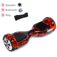 6 5Inch Hoverboard Bluetooth Intelligence Scooter Wheels Electric Self Balance Hoverboard Skateboard Electric Geroskuter Oxboard