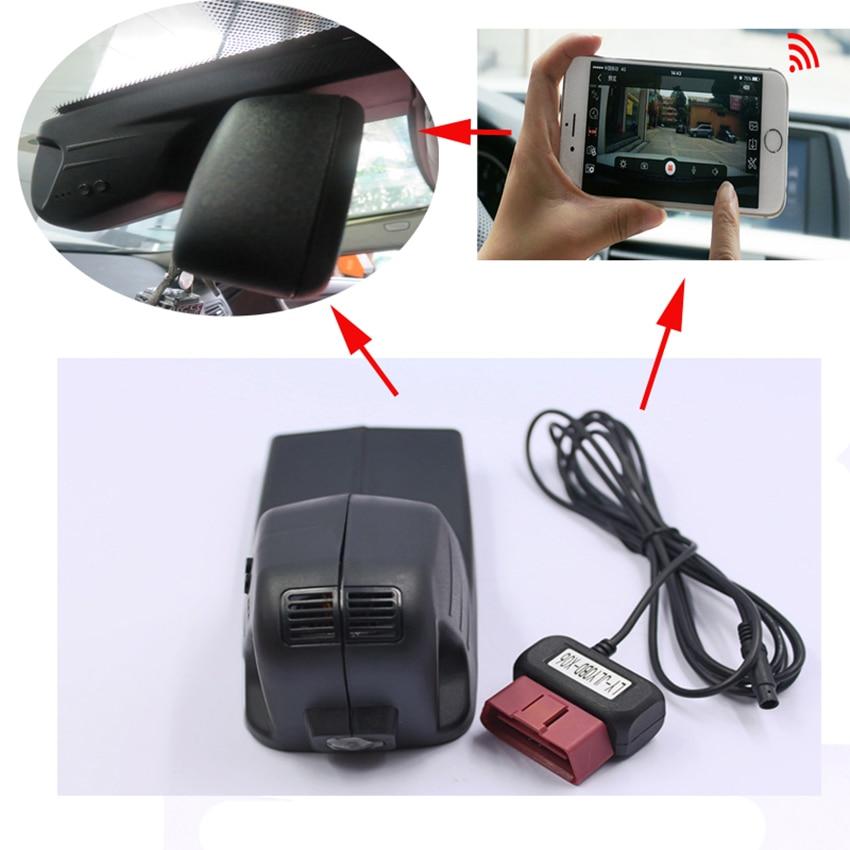 For BMW X5 Driving Recorder Car Dvr Mini Wifi Camera Full HD 1080P Car Dash Cam Video Recorder Original Style Black Box junsun wifi car dvr camera video recorder registrator novatek 96655 imx 322 full hd 1080p dash cam for volkswagen golf 7 2015