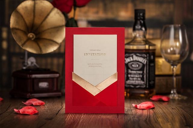 wedding invitation chinese red bridal shower wedding invitation cards fancy wedding invitations royal