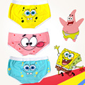 2 Pairs/set Cartoon Printed Underwear Men Boxer Shorts Underpants Sexy Mens Cotton boxers Couple Panties Women Panties Underwear