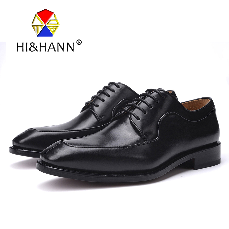 USA brand luxurious Handmade Goodyear Crafts Men Genuine Leather Oxfords with Genuine Leather outsole Men dress shoes goodyear leather shoes handmade custom business men leather italian brand new men dress shoes bespoke calfskin leather outsole