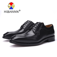 USA brand luxurious Handmade Goodyear Crafts Men Genuine Leather Oxfords with Genuine Leather outsole Men dress shoes
