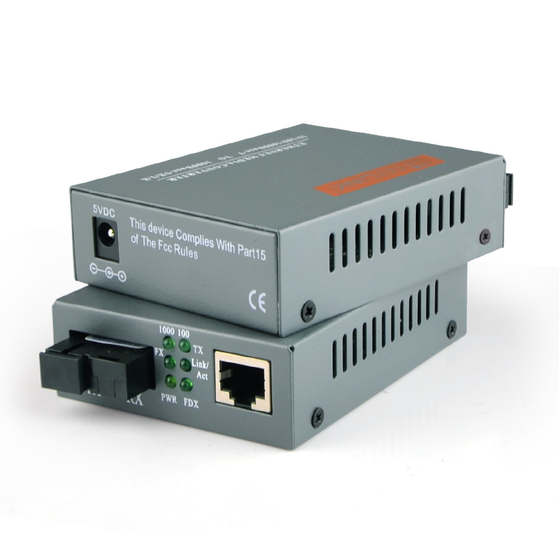 1 Pair 10/1001000Base Netlink HTB GS 03 AB Single mode simplex Fiber Optic RJ45 Enternet Media Converter 20KM Fiber TTransceiver-in Fiber Optic Equipments from Cellphones & Telecommunications on AliExpress