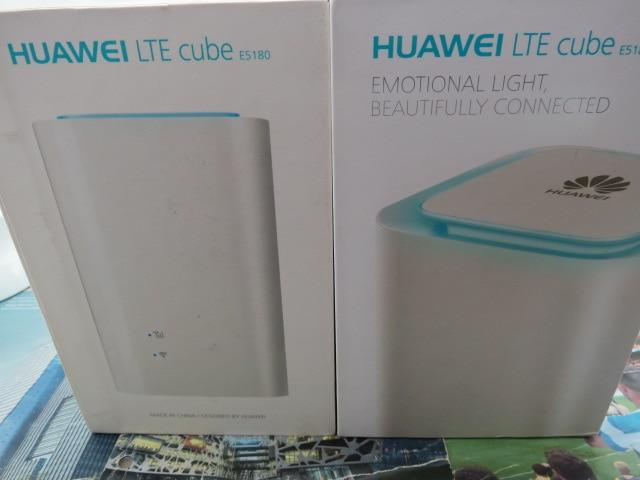 Lot of 2pcs Huawei E5180 - LTE Cube - Huawei E5180s-22 CPE LTE Router 150 Mbit/s LAN 32 User