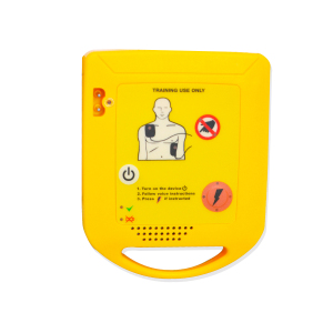 Image 4 - Mini AED Trainer Automated Cardiopulmonary Defibrillator Resuscitation Training First Aid Device In Spanish + 1 CPR Face Shield