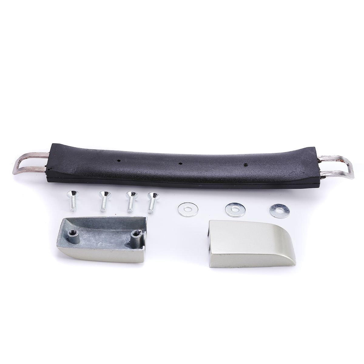 1 Set Luggage Case Handle Broken Replace Repair Tools Mayitr Suitcase Spare Strap Grip Black+Silver