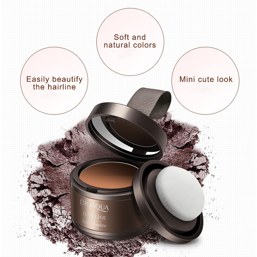 Hairline Modified Shadow Powder Natural Hairline Covering powder Instant Covering Flaw Powder Hair Care Concealer Product TSLM2