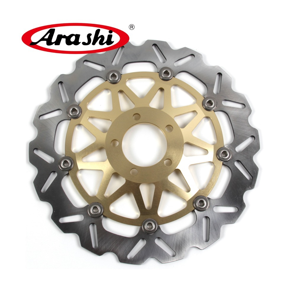 Arashi 2pcs For Kawasaki Zx9r Ninja 900 1994 1997 Cnc Front Brake