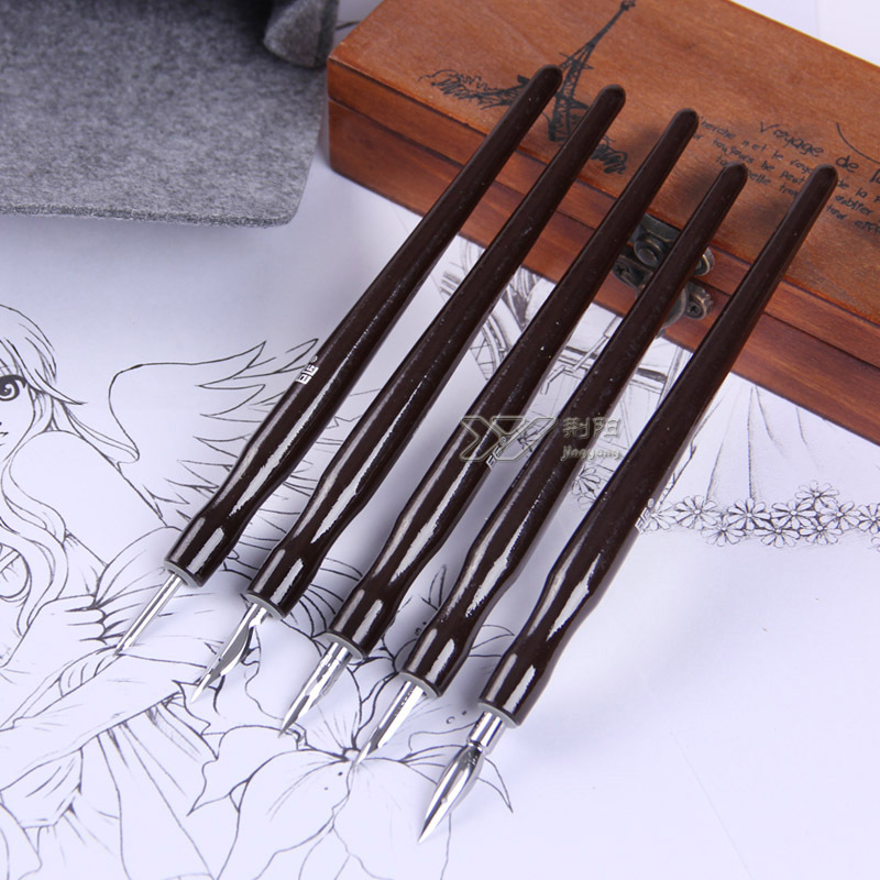 Masters of Japanese cartoon pen comics dip pen sets cancel G D whistle Round nibs of a cartoon kit with a gift battle of the masters liverpool masters arsenal masters
