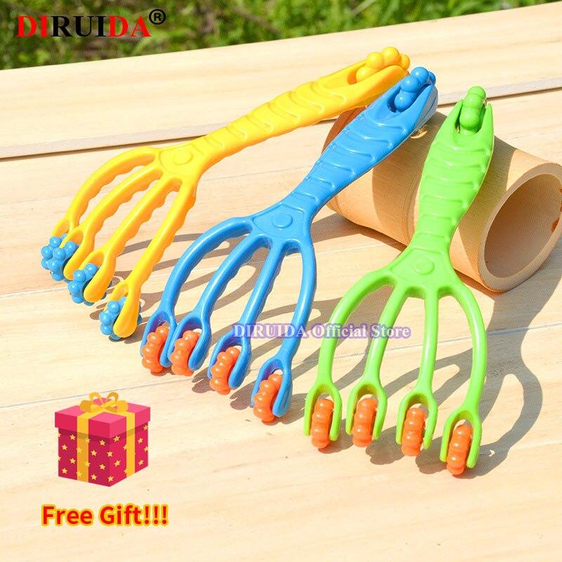NEW Five Finger Claw Massager Body Massager Octopus Head Scalp Neck Equipment Release Relax Massage Tens Pain Relief Head Care