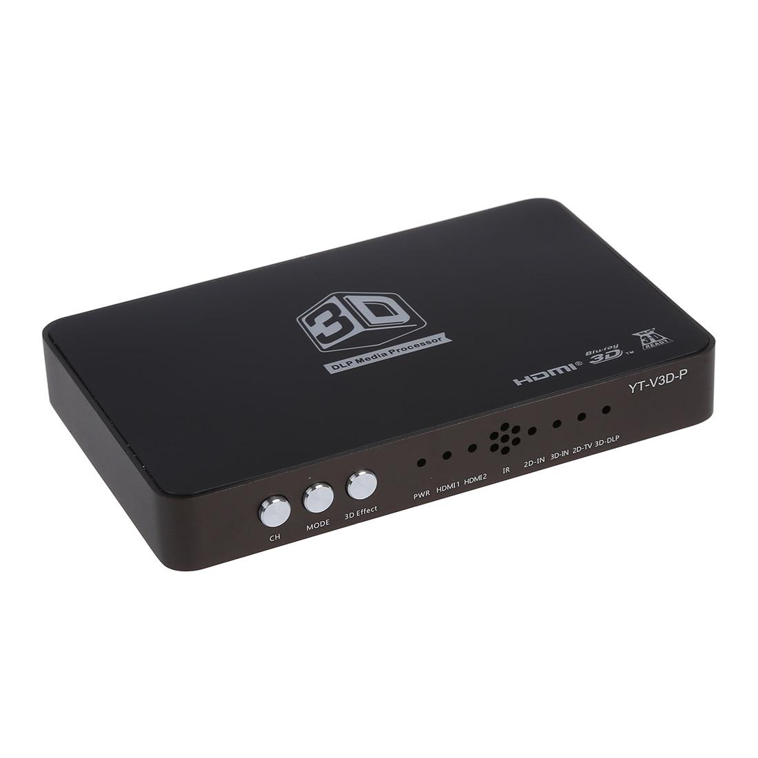 Youting 3d DLP Converter 2x1 Hdmi 1.4 for 120hz 3d Ready DLP Projector Black 3d очки oem 3d dlp link dlp 3d optoma lg acer benq w1070 3d dlp cx 30