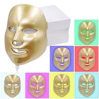 7Colors Light Photon Electric LED Facial Mask Home Use Skin PDT Skin Rejuvenation Anti Acne Wrinkle