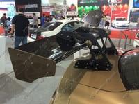 Автомобильные аксессуары FRP волокна Стекло фунтов P Ver.1 Стиль спойлер багажника подходит для 2008 2014 R35 GTR CBA DBA сзади GT Крыло