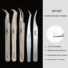 VETUS 1 Pcs נפח לאש פינצטה נירוסטה פינצטה עפעף להארכת ריסים עיניים איפור כלים SA ST