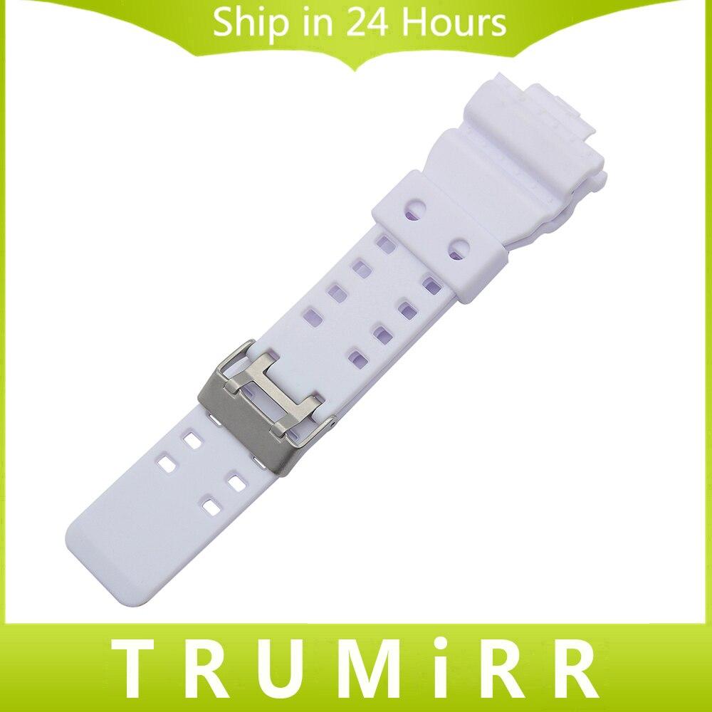 29mm x 16mm Silicone Rubber Watchband for GA100 GA110 GD120 GW8900 GLS100 Electronic Watch Strap Resin Wirst Bracelet White Camo silicone rubber watchband 16mm x 29mm convex strap for ga100 g8900 gd 100 men women watch band resin wrist bracelet black white