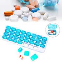 31 tage Medizin Tablet Dispenser Organizador Fall Medizinische Container Pille Box Wöchentlich Lagerung Fall Extra Große Monatliche Pille Orgel