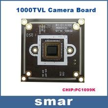 HD 1000TVL CCTV  CMOS Camera Board OSD Menu Support UTC Control