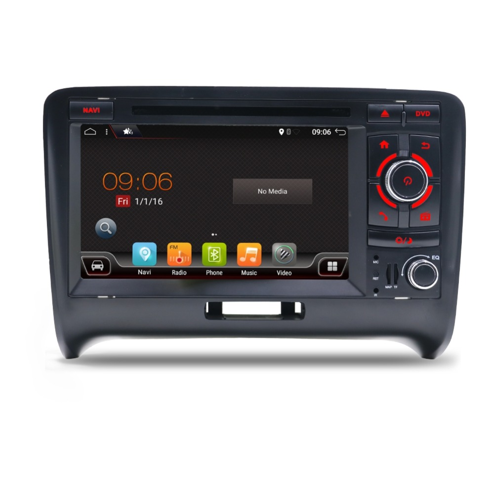 2 din android 7 1 car stereo with gps for audi tt 2006. Black Bedroom Furniture Sets. Home Design Ideas
