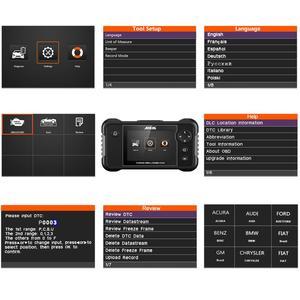 Image 4 - Ancel FX2000 Professional OBD2 เครื่องสแกนเนอร์ ABS SRS ถุงลมนิรภัยการวินิจฉัยเครื่องมือ OBD 2 diagnostics OBD Scanner