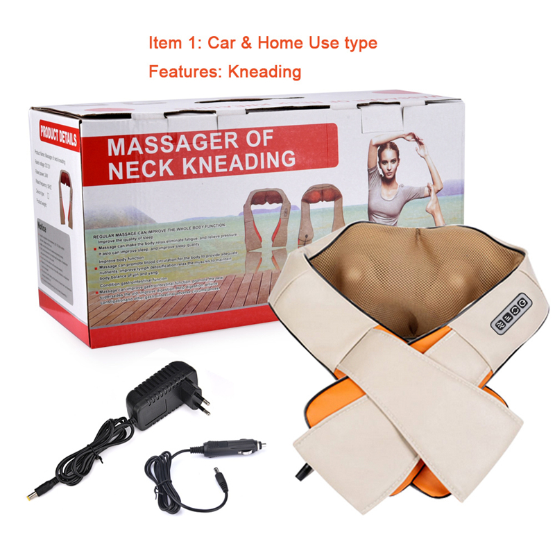 electric body back neck shoulder massage for home and car for with cellulite shiatsu acupressure