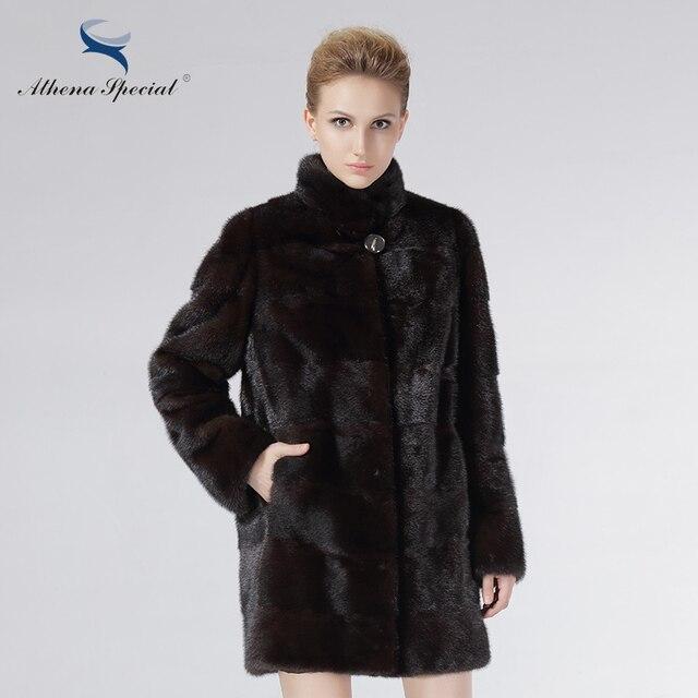 Athena Special Fashion Fur Coat Women Mink Coats Real Mink Fur ...