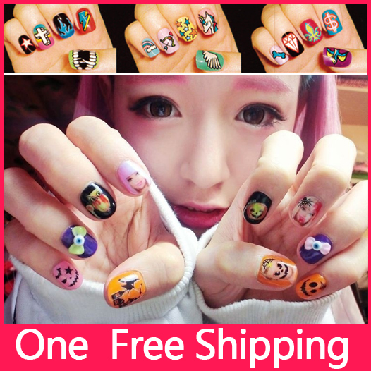 Nail Art Sticker Japanese Element Nail Stickers Super Futie Nail ...