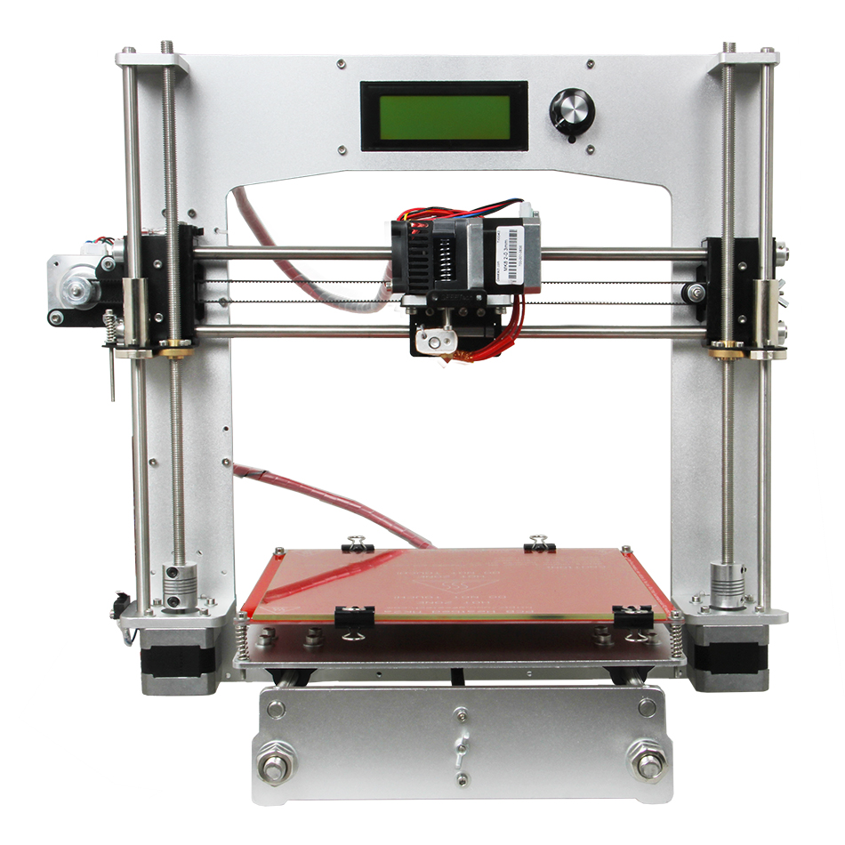Geeetech Reprap Prusa I3 3D Printer Full Aluminum Frame High Precision DIY Printing Kits High Resolution LCD