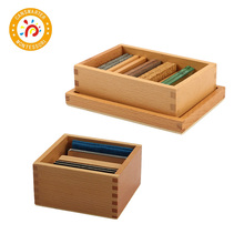 Montessori Materials Baby Toy Thermic Tablets with Box Early Childhood Education Preschool Training Kids toy montessori materials four colors game color matching for early childhood education preschool training learning toys