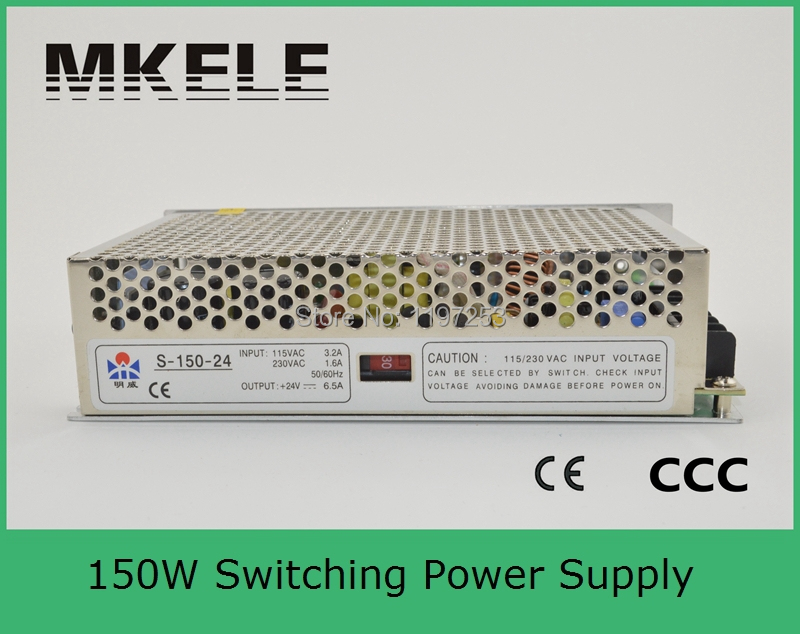 ФОТО adjustable 150W 13.5v single output high reliable ac dc switching power supply 150w power supplies S-150-13.5 11.2A