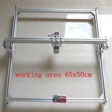 2000 MW DEL laser DEL CNC máquina de grabado de corte por láser máquina de grabado área de 50×65 cm Mini láser de grabado máquina de grabado velocidad