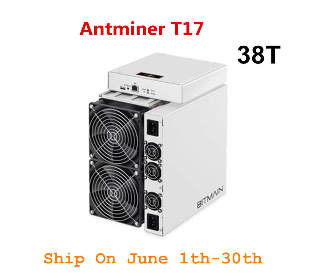 Recentes BCH Asic BTC Mineiro BITMAIN AntMiner T17 38TH/S Com PSU Melhor Do Que S9 S11 T15 S15 S17 s17 Pro Z11 WhatsMiner M3 M10 M20S