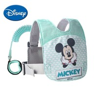 Disney Baby Anti Lost Wrist Leash Adjustable Toddler Wristband Safety Backpack Breathable Walking Harness Walking Assistant