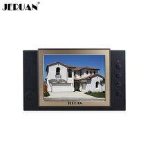 JERUAN 8 дюймов видео домофон дверной звонок Домофон только монитор видео запись фото черный домофон+ адаптер питания