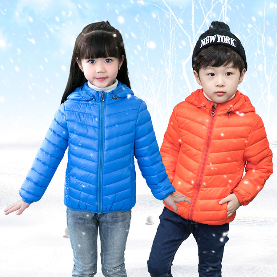 White Duck Down Jacket Teenagers Down Jacket Children Winter Filling Down Girl's Jacket New Year Clothing for Children Under 7 down under