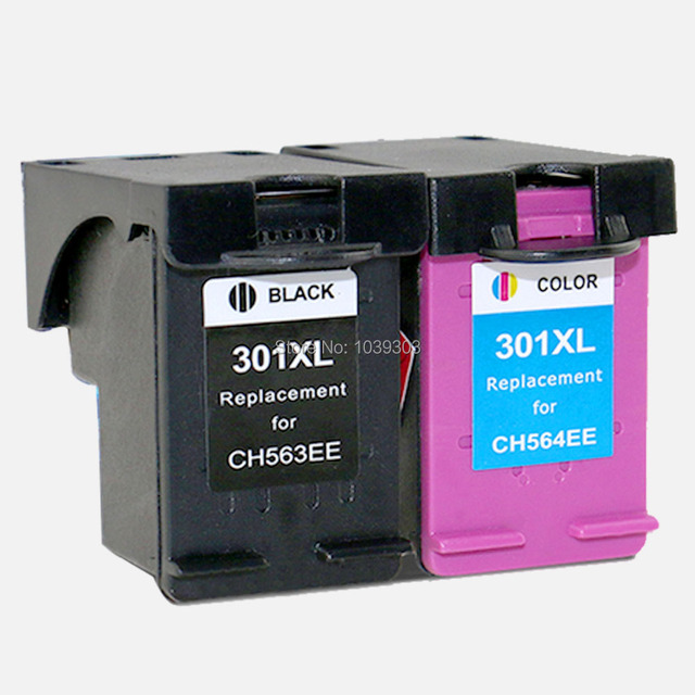 2x Compatible  HP301 HP 301 ink cartridge for HP 301 XL for HP 3050se 1050A 2050A 2054A 3050A 3052A 3054A printer