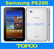 Samsung Galaxy Tab 7.0 Plus P6200 Original Unlocked Android 3G Dual-core Mobile Phone Tablet 7″ WIFI GPS 3.15MP 16GB  Storage