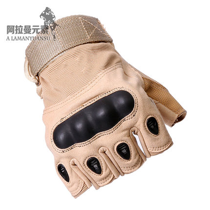 freeshipping Half Finger Military Tactical Gloves Outdoor Sports Gloves Bicycle Antiskid Sports Gloves in Hiking Gloves from Sports Entertainment