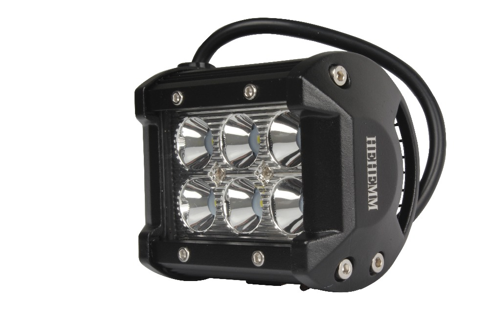 18W Car spot Driving Fog Light Off Road Boat driving Led Work Light for SUV Jeep Lamp
