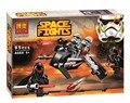 Brinquedos para crianças DA MARCA CHINA 10366 auto-travamento bricks Compatíveis com Lego 75079 Star Wars Troopers Geonosis